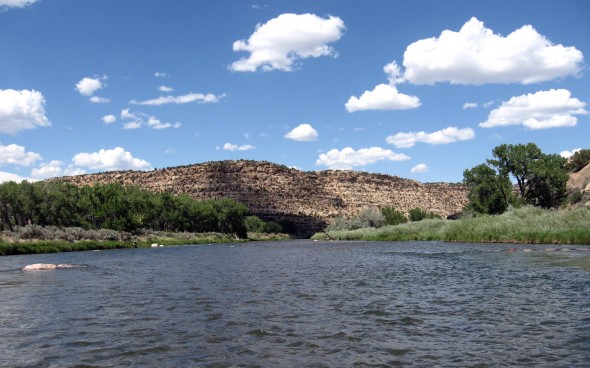 San Juan River at Simon Canyon in NM