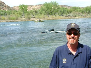 New Mexico Department of Game and Fish, San Juan River, Fisheries Biologist, Marc Wethington