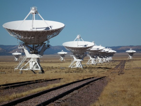 The Very Large Array on the Plains of San Augustin.