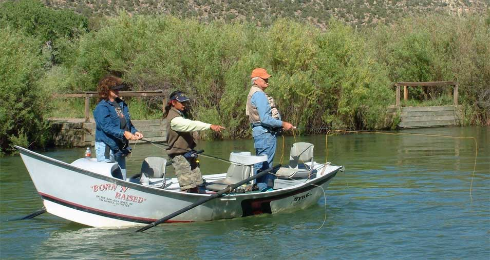 Fly fishing the san juan river with veteran guide peggy for San juan fly fishing