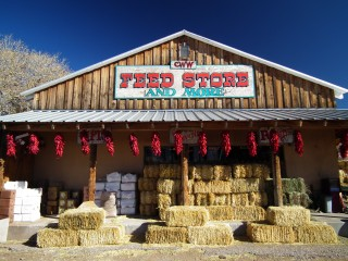 CWW Feedstore, San Ysidro, New Mexico.
