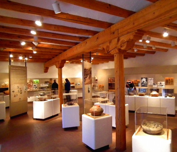 The museum inside the Pecos National Historical Monument is well designed and a provides an excellent  representation of New Mexico's history.