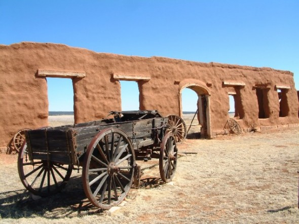 Fort Union on the Santa Fe Trail.