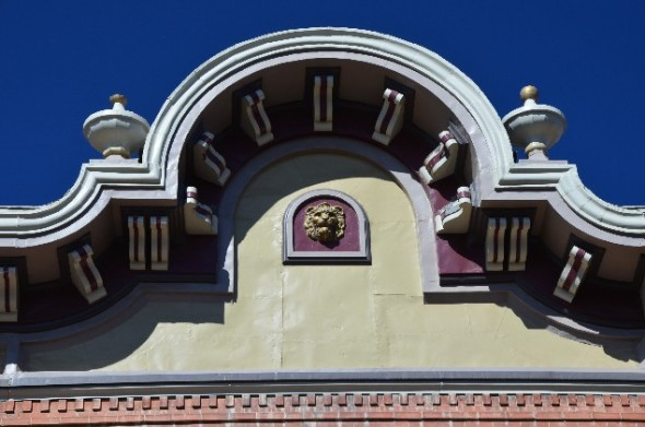 Example of the Victorian Architecture found in Las Vegas NM.