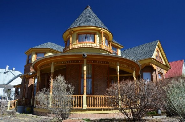 Victorian era home in Las Vegas NM.