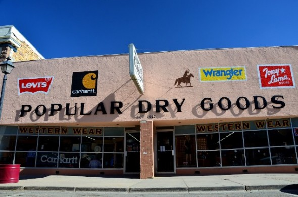 Popular Dry Goods store in Las Vegas NM.