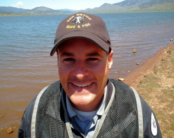 Eric Frey, Sportfish Program Manager  for the New Mexico Department of Game and Fish.