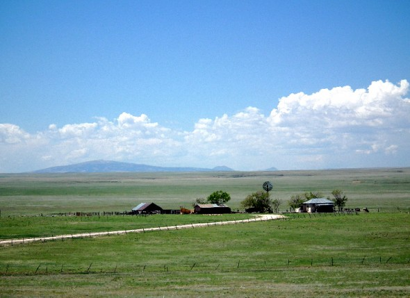 ranch on the plains